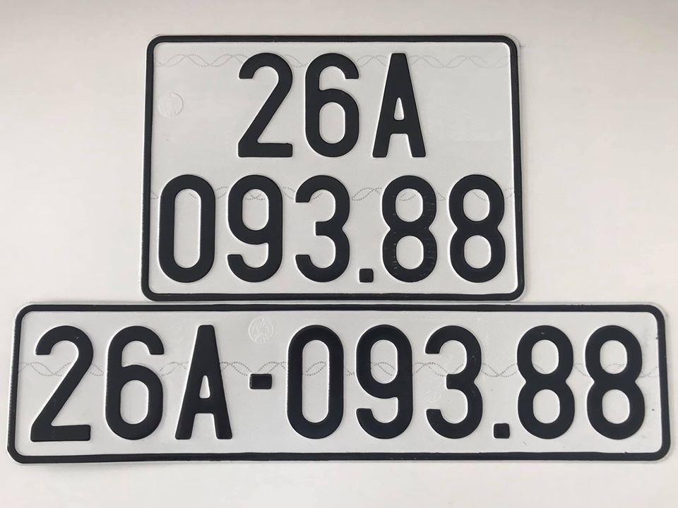 Biển số xe ô tô