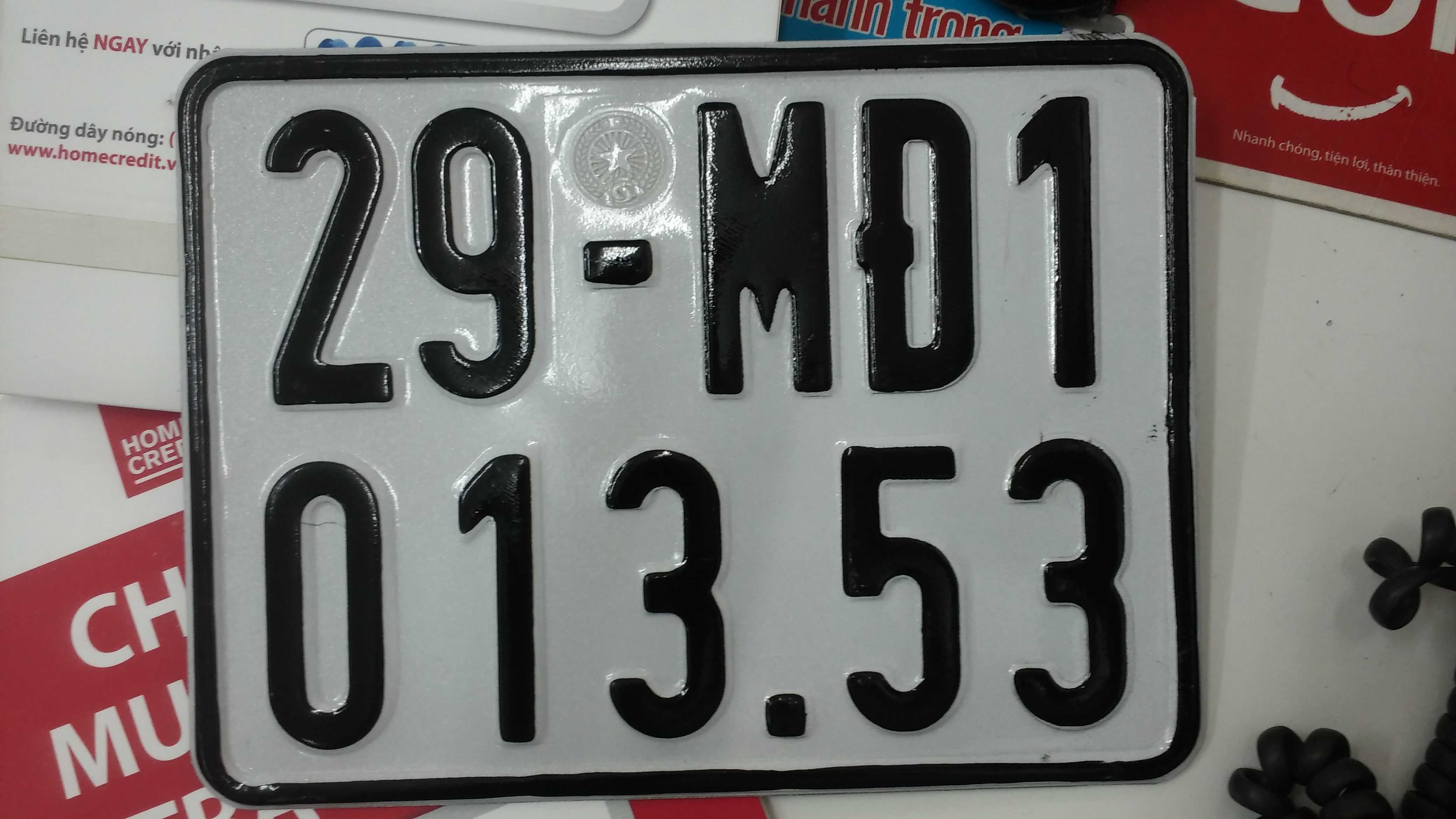 Biển số xe máy điện 5