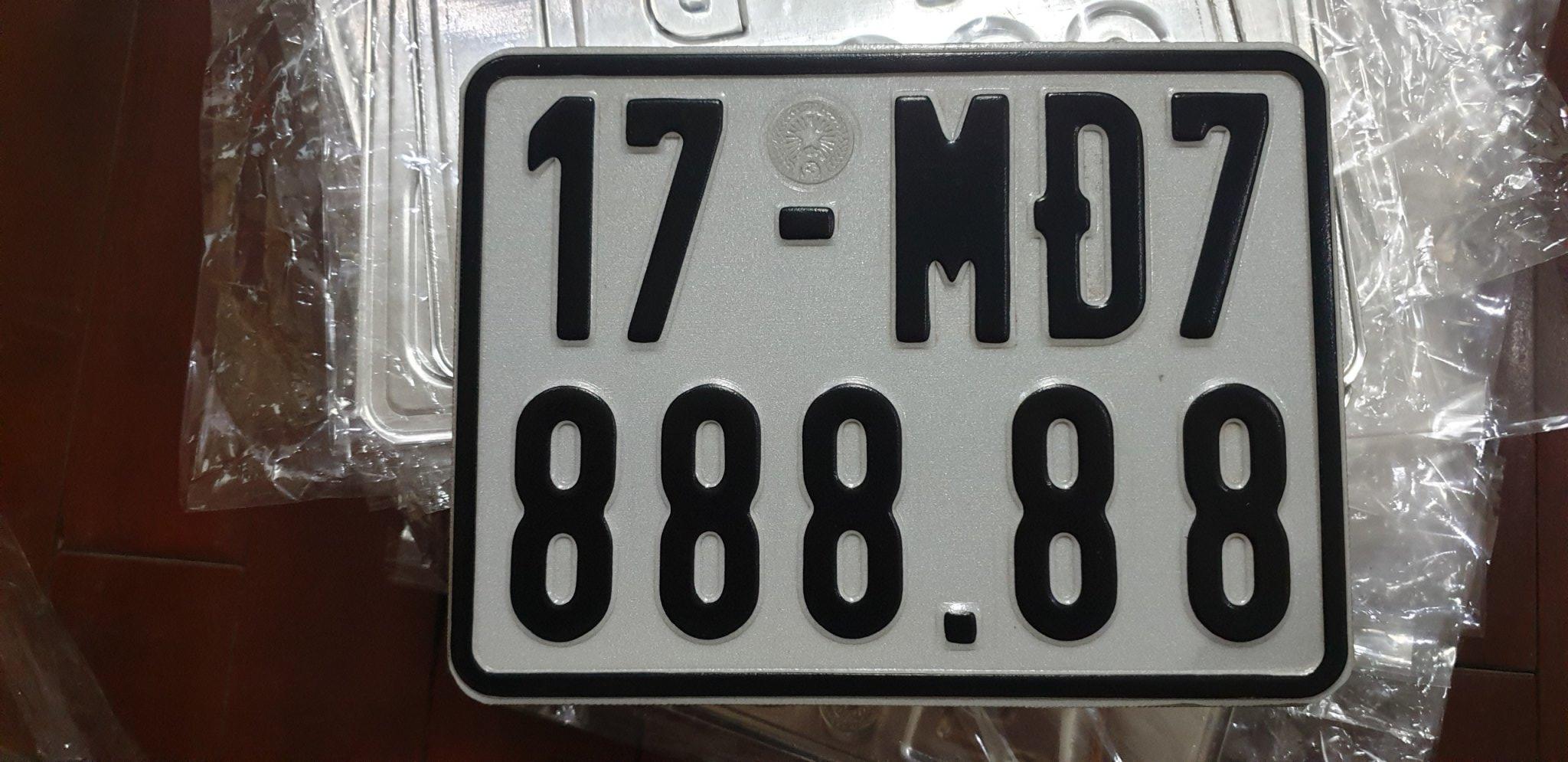 Biển số xe máy điện 7