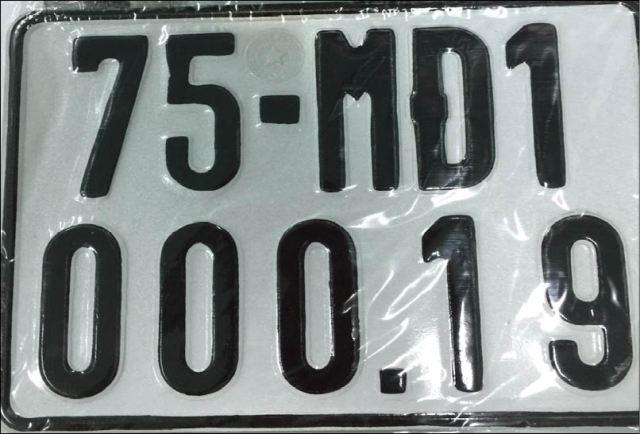 Biển số xe máy điện 6